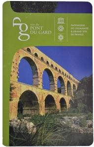 Carte d'accés Pont du Gard