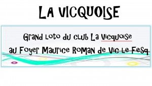 Grand loto du club La Vicquoise