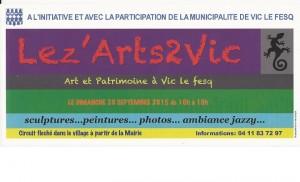 Exposition Lez'Arts2Vic
