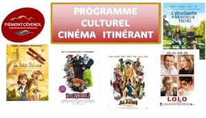 Programme culturel décembre 2015