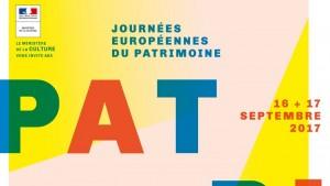 Journée européennes du patrimoine 2017