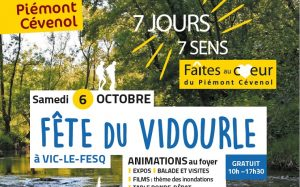 Fête du Vidourle à Vic-le-Fesq