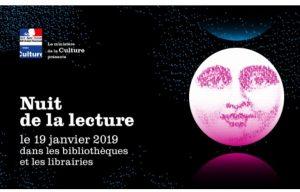 Nuit de la lecture : 3eme édition