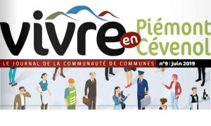 journal Vivre en Piémont Cévenol – juin 2019