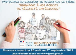 Concours de dessins pour le lancement des Rencontres de la Sécurité