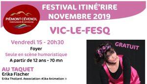 Festival intiné'rire à Vic le Fesq