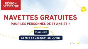 [Covid19] – Navettes gratuites LIO pour les personnes de 75 ans et + en Occitanie